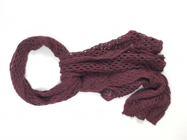 Express, Women's Maroon Scarf - Size: One Size (Regular)