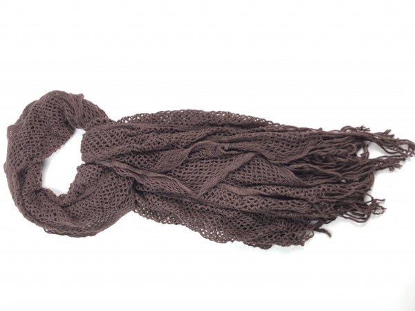Unbranded, Women's Brown Scarf - Size: One Size (Regular)
