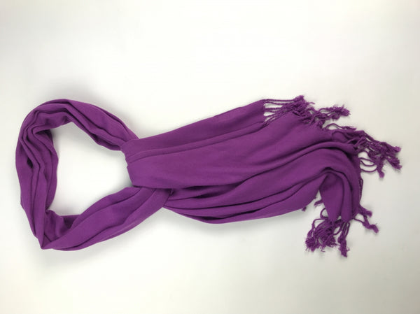 Ashley Cooper, Women's Purple Scarf - Size: One Size (Regular)