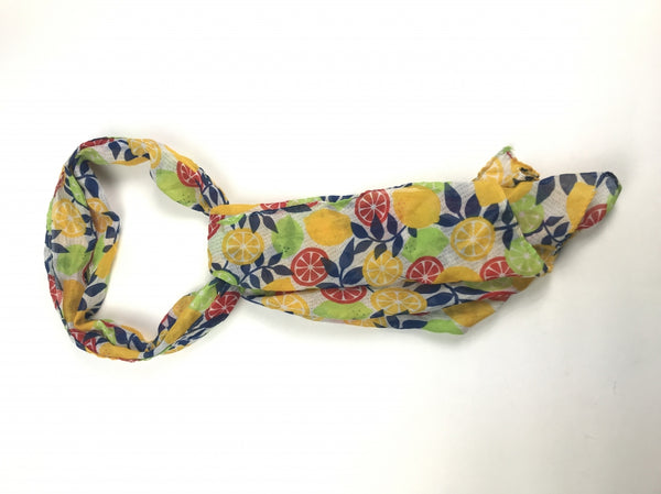 Unbranded, Women's Multicolored Floral Scarf - Size: One Size (Regular)