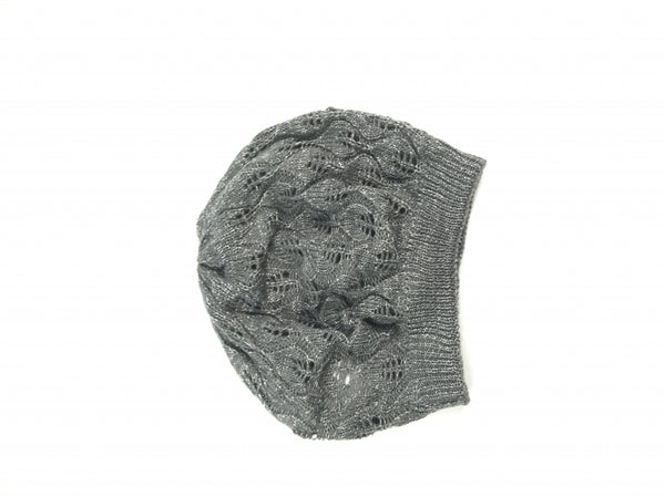 Mudd, Women's Grey Beanie Hat - Size: One Size (Regular)
