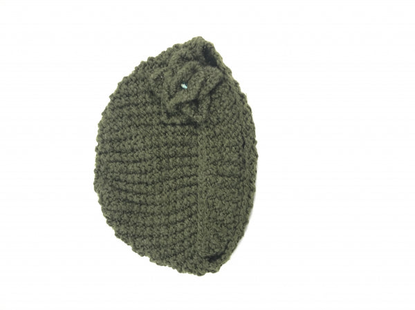 Unbranded, Women's Brown Beanie Hat - Size: One Size (Regular)