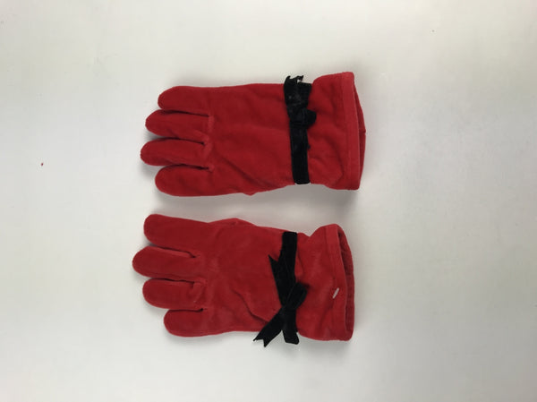 Unbranded, Women's Red Gloves - Size: One Size (Regular)