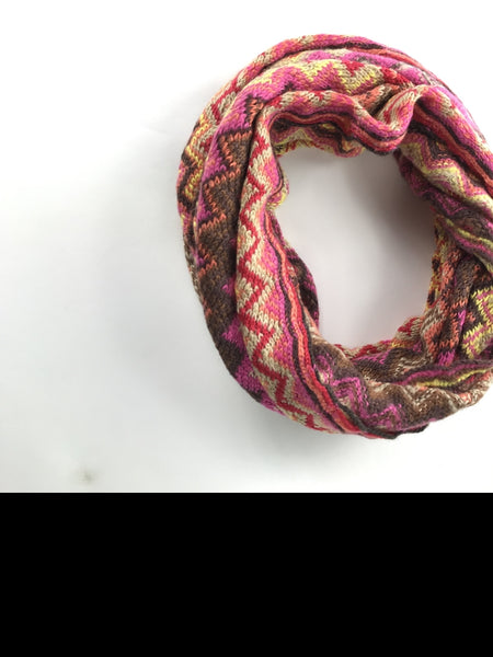 Unbranded Accessories, Women's Pink And Brown Textile - Size: L (Regular)