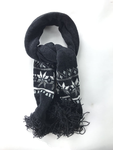 Unbranded Accessories, Women's Black And White Scarf - Size: One Size (Regular)
