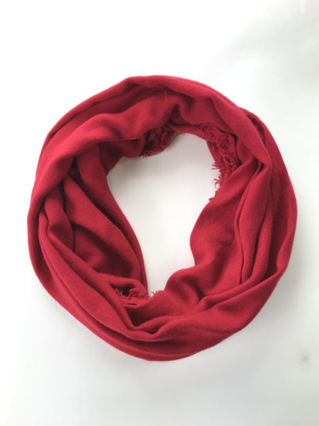 Apt.9, Women's Red Scarf - Size: One Size (Regular)