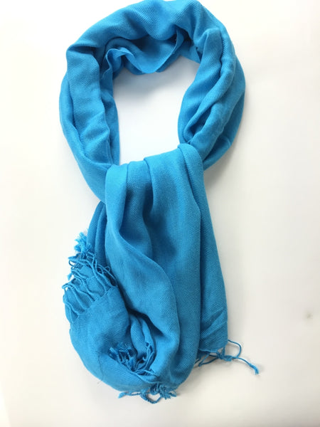 Unbranded Accessories, Women's Blue Scarf - Size: One Size (Regular)