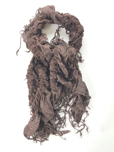 Belissimo, Women's Brown Scarf  - Size: One Size (Regular)