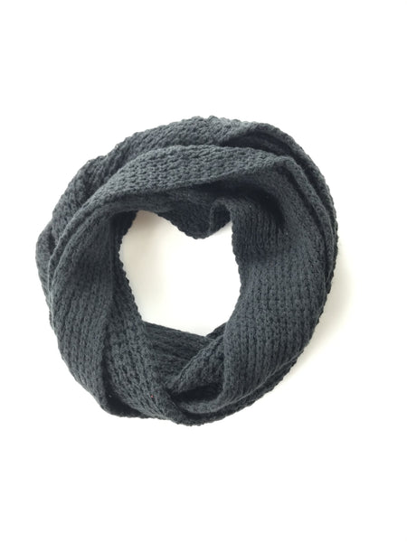 Unbranded, Women's Black Infinity Scarf - Size: One Size (Regular)