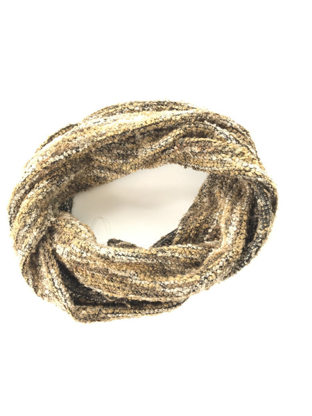 Unbranded, Women's Brown Infinite Scarf - Size: One Size (Regular)