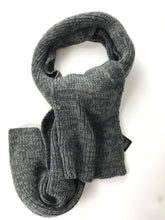 Load image into Gallery viewer, H & M, Women's Grey Knitted Scarf - Size: One Size (Regular)