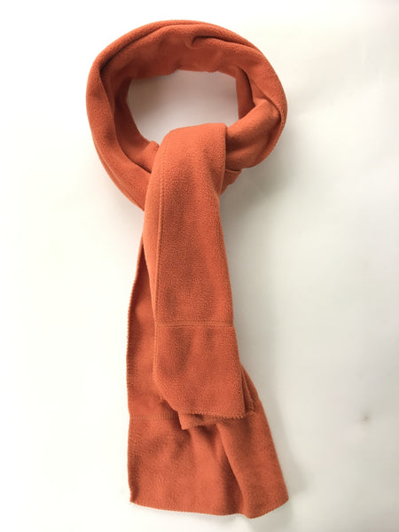 Unbranded, Women's Orange Scarf - Size: One Size (Regular)