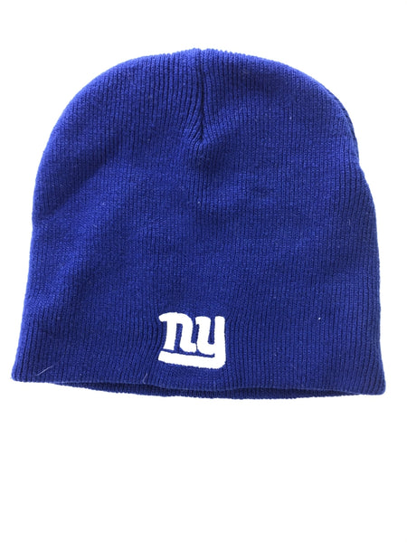 Unbranded, Women's Blue Knit Cap - Size: One Size (Regular)