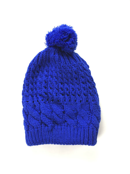 Unbranded Accessories, Women's Blue Knitted Textile - Size: 1 (Regular)