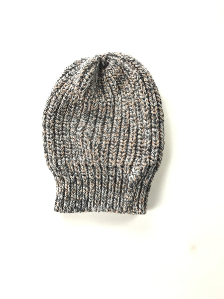 Unbranded Accessories, Women's Gray Knitted Cap - Size: One Size (Regular)
