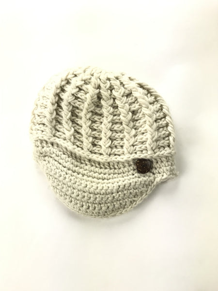 Scala Pronto, Women's White Knitted Hat - Size: One Size (Regular)