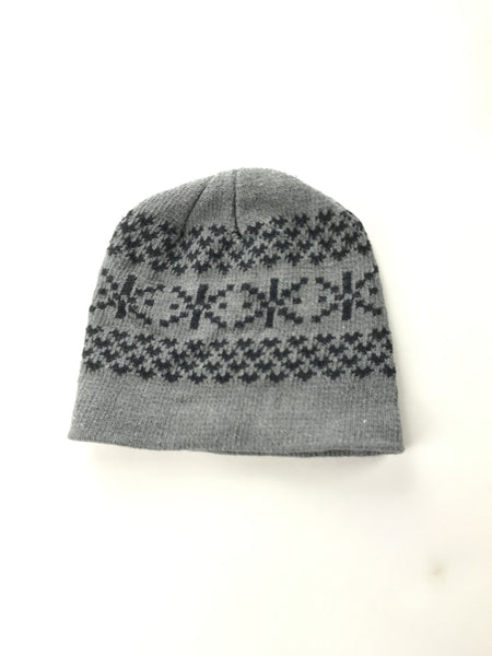 Unbranded Accessories, Women's Gray Beanie Hat - Size: One Size (Regular)