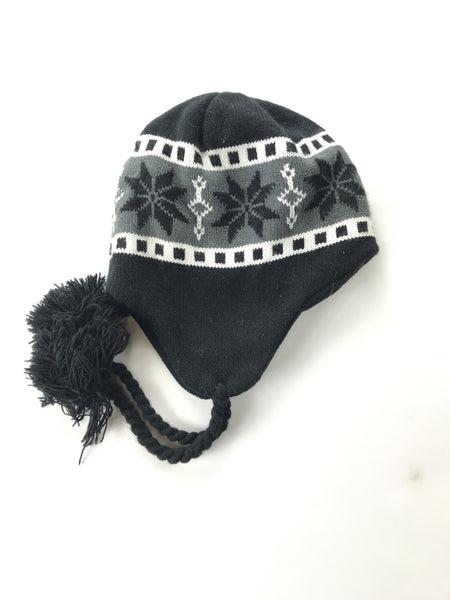 Unbranded Accessories, Women's Black,Gray And White Floral Hat - Size: One Size (Regular)