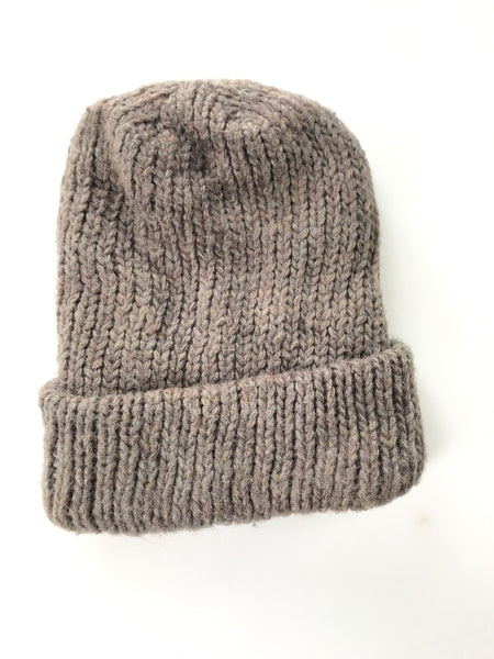 Unbranded Accessories, Women's Brown Knit Hat - Size: One Size (Regular)