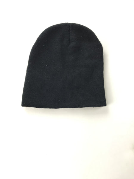 Unbranded Accessories, Women's Black Knitted Beanie Cap - Size: One Size (Regular)