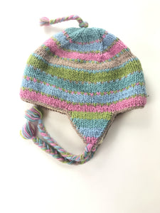 Unbranded Accessories, Women's Multicolored Knitted Critter Cap - Size: One Size (Regular)