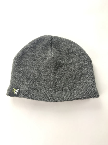 Turtle Fur, Women's Grey Knitted Beanie Cap - Size: One Size (Regular)