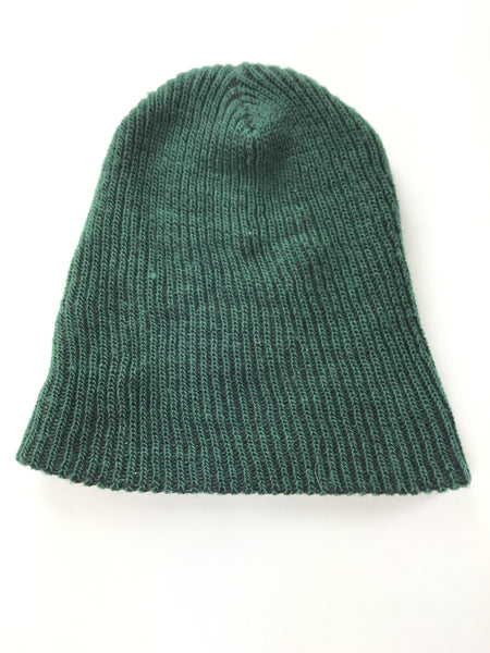 Unbranded Accessories, Women's Green Knitted Beanie Cap - Size: One Size (Regular)