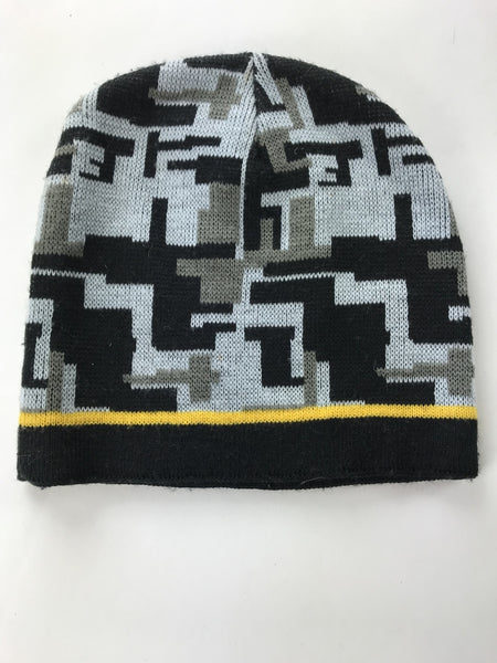 Unbranded Accessories, Women's Grey And Black Beanie - Size: One Size (Regular)