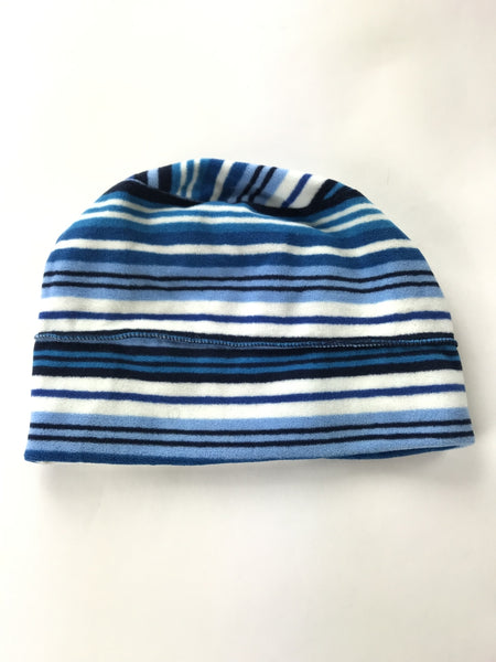 Unbranded Accessories, Women's Blue And White Striped Textile - Size: One Size (Regular)