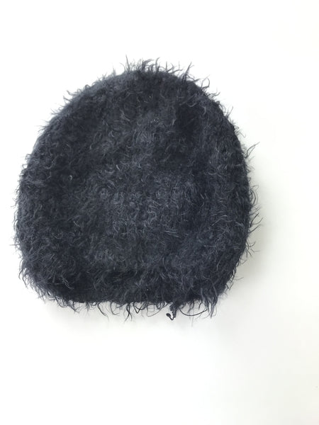 Unbranded Accessories, Women's Black Fleece Beanie Cap - Size: One Size (Regular)