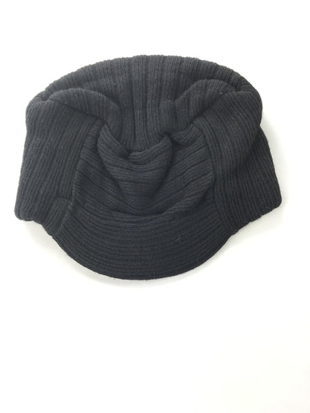 Unbranded Accessories, Women's Black Knit Hat - Size: One Size (Regular)