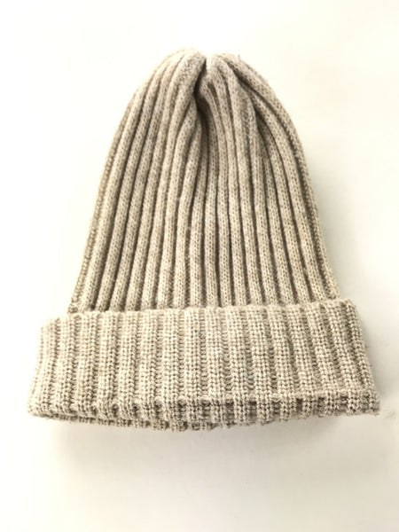 Unbranded Accessories, Women's Beige Beanie Hat - Size: One Size (Regular)