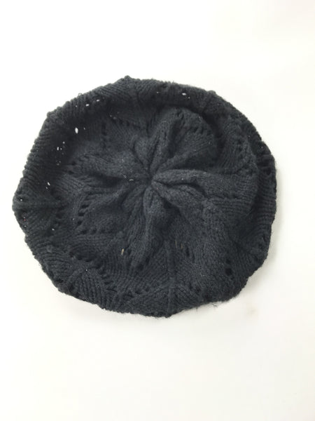 Unbranded Accessories, Women's Black Beret Cap - Size: One Size (Regular)