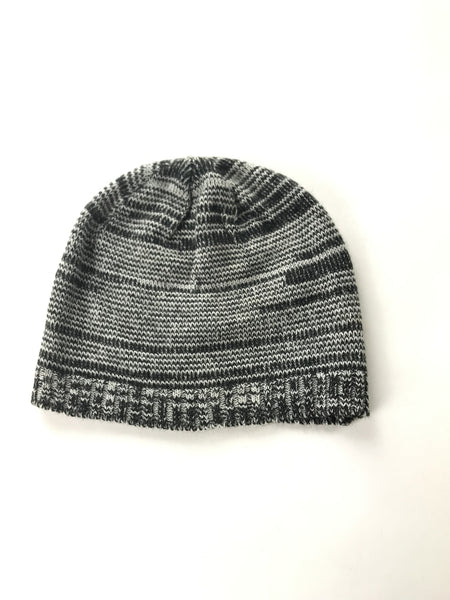 Unbranded Accessories, Women's Grey Knitted Beanie Cap - Size: One Size (Regular)