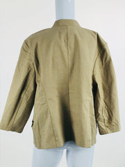 Roz & Ali, Women's Beige Jacket - Size: XL (Regular)