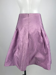 Isaac Mizrahi, Women's Purple Skirt - Size: 14 (Regular)