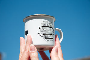 Hay - enamel mug - IN STOCK