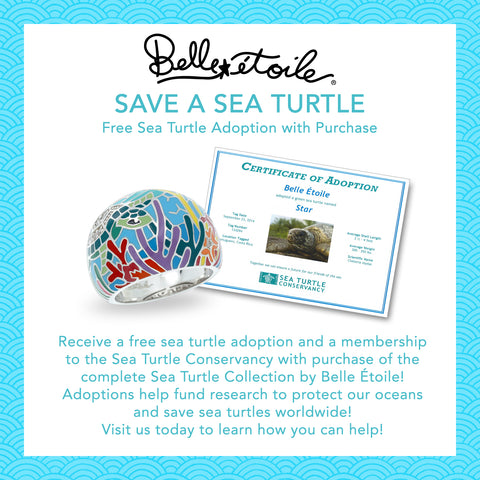 Belle Étoile Partners with the Sea Turtle Conservancy to Help Save and Protect Sea Turtles Worldwide