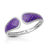 Marina Purple Bangle
