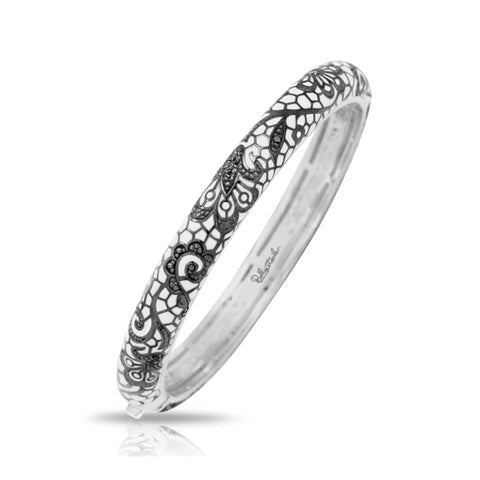 Fleur de Lace Stackable Bangle