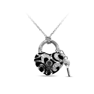 Key To My Heart Petite Pendant