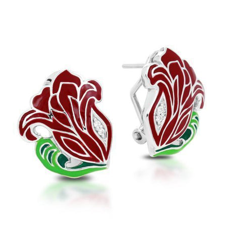 Rose Nouveau Earrings