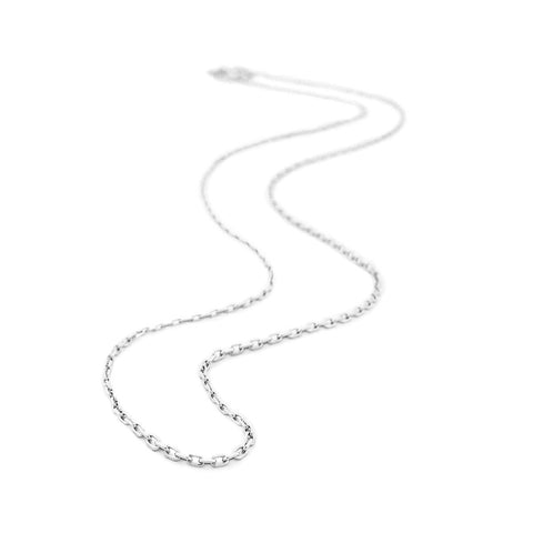 Sterling Silver Small Cable Chain