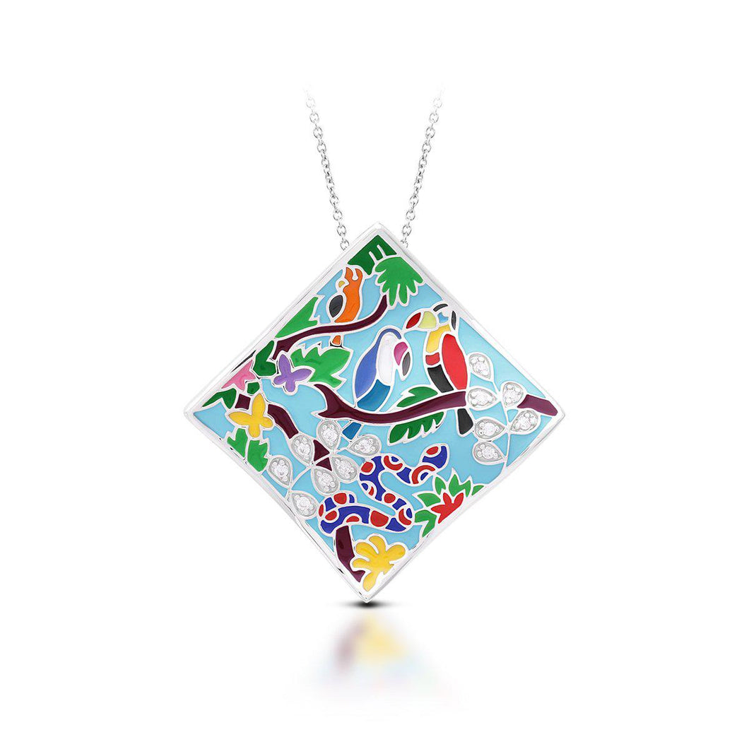 Tropical Rainforest Pendant