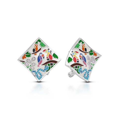 Tropical Rainforest Earrings