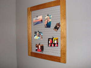 Chicken Wire Bulletin Board