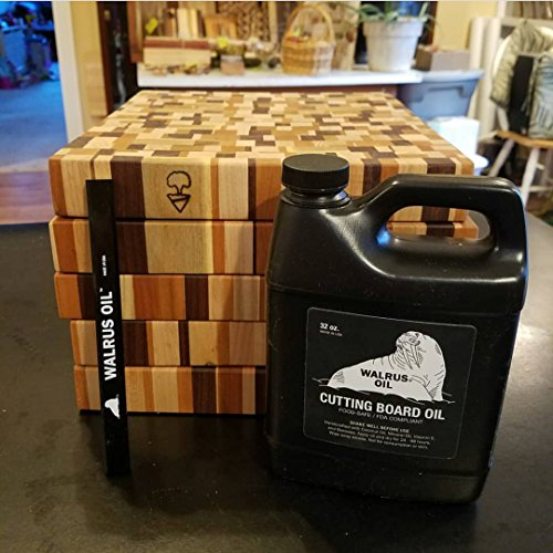 WALRUS OIL - Cutting Board Oil and Wood Butcher Block Oil, 32 oz Jug, Food-Safe