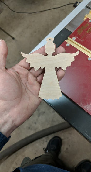 Angel Tree Ornament