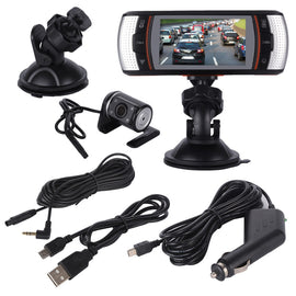 JW-366 - Front and rear Dashcam with GPS