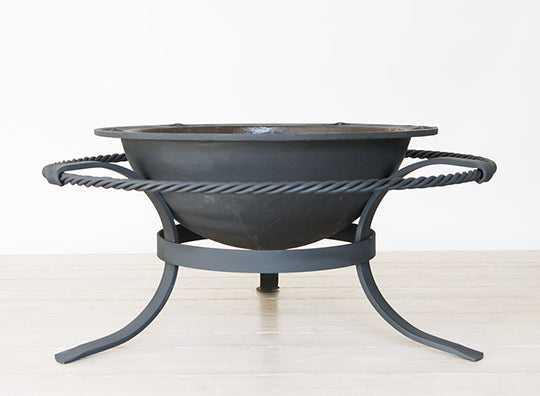 FIRE PIT IDEAS SEA ISLAND FORGE